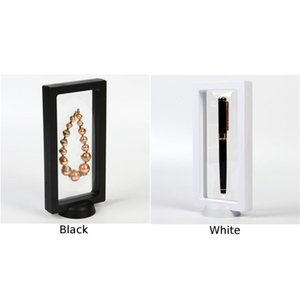 Elastic Film Floating Frame Shadow Box Commemorative Coins Jewelry Stand Display Home Floating Display Boxes