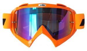 Hot KTM vendendo ao ar livre óculos de proteção do capacete da motocicleta off-road anti-torção óculos de proteção anti-queda anti-UV óculos concorrência equitação da motocicleta equitação