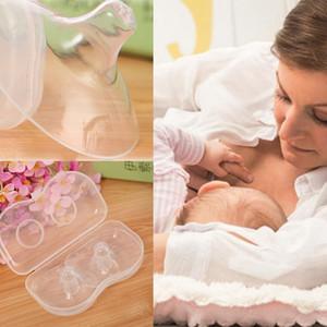 2pcs silicone Titiller protecteurs du lait maternel des mères alimentation Protection Mamelon Cover L'allaitement extracteur de lait navire sans Nipple
