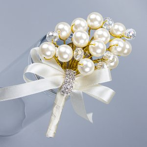 ... Our Faux Pearl Personalized Custom Bride and Groom Corsage Wedding shui zuan kou the Groomsman and Bridesmaid jin hua