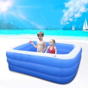 Baby-Kind-Bade Tub Baby Home Use Planschbecken Aufblasbare Platz Pool Kids Family verdickte Wasser spielen