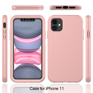 360 Full Protection Case For Samsung Galaxy S20 Plus S10 Luxury TPU+PC Front and Back Protective Soft Phone Cover For iPhone 12 11