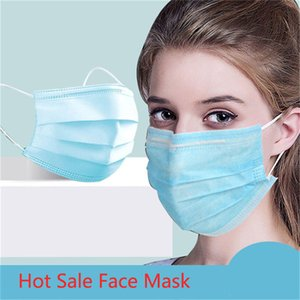masques gros masque facial design pm 2.5 3 Ply Respirant blocage anti-poussière Masque de gros