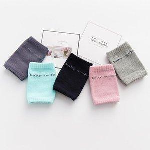 Tarama Bebekler Bebek Pedler Diz Emniyet Koruyucu Çocuk dizkapaklarımı Çocuk Short çorapları Bebek Bacak Dizlik 8 Colors için Kaymaz Diz koruyucuları