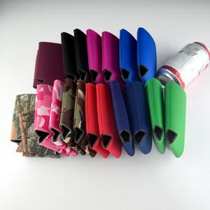 Fashion Blank en néoprène Coupe Pliable Porte-Stubby bière sacs isothermes pour les boîtes de vin aliments Couverture cuisine Outils TTA1334