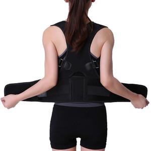 Nuovo Indietro Spalla Spina dorsale del correttore di posizione di correzione Protect postura Banda Humpback Back Pain Relief Corrector Brace