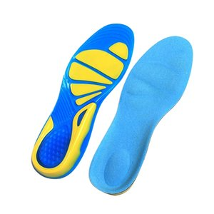 1pair Sport Shoes Pad Unisex Anti-Slip Running Shoe Pads TPE Basketball Football Hiking Shoes Insole Orthopedic Massaging#734