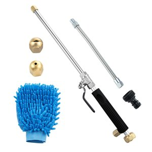 Jet Power Washer Wand High Pressure Garden Sprayer Attachment, Water Hose Nozzle,Flexible Glass Cleaning Tool, Foam Cannon Car W