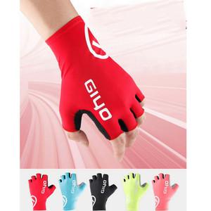 스포츠 사이클링 장갑 하프 핑거 자전거 젤 MTB Road Bike Racing Gloves