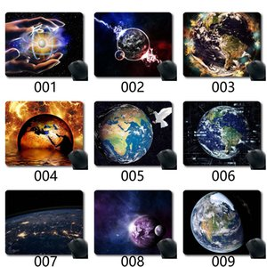 Earth Mouse Pad,Earth Globe Sea Trenches Earth'S Crust Spacegaming Mouse Pads