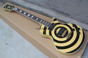 Atacado 2014 NEW Zakk Wylde bullseye EMG preto captadores ativo com bateria de 9V guitarra elétrica em estoque