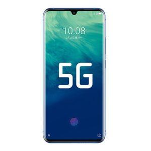 "ZTE origine Axon 10 Pro 5G LTE téléphone portable 12Go RAM 256Go ROM Snapdragon 855 Octa base Android 6.47"" 48.0MP NFC d'empreintes digitales ID Cell Phone"