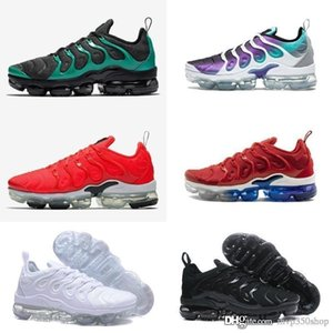 2019 New Original Tn Plus Shoes Sell Volt Hyper Violet Blue Men Women Fashion Casual Shoes Triple Designer White Black Trainer Best Shoes