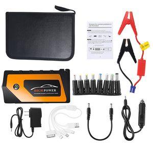 Autoleade 69800mAh 12V 자동차 점프 스타터 비상 시작 장치 4USB LED 빛 모바일 전원 은행 자동차 충전기 배터리 부스터
