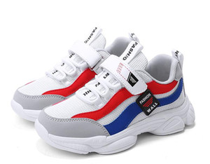 High Brand Children Casual Sport Shoes Boys And Girls Sneakers Children\\'s Running Shoes kids Basketball shoes size 31-37