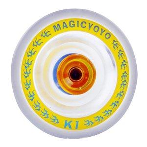 ГОРЯЧИЙ MAGICYOYO K1 Спин ABS Yoyo Нового ПВХ Профессиональных Yoyo Игрушка с Hubstacks Transparent