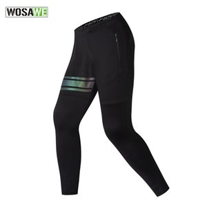 Wosawe Self-cultivation Leisure Time Pants Directly Canister Bound Feet Pants Motion Trousers Male Bodybuilding Training Pants