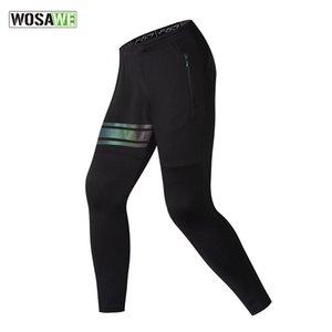 Wosawe auto-cultivo Tiempo libre Pantalones directamente del frasco Bound pies pantalones pantalones de entrenamiento de movimiento Pantalón masculino de culturismo