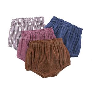 INS Baby Floral Dot Shorts Pantalons tout-petits garçons PP filles Pain Pantalons Filles été Bloomers infantile Briefs Couverture de couche-culotte Underpants C326