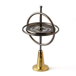 Nuovo arrivo Magico dito giroscopio in lega di zinco Decompression giocattolo Fingertip giroscopio giocattoli per bambini all'ingrosso spedizione gratuita