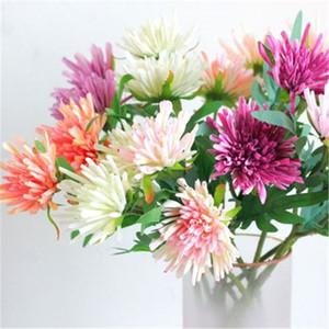 10pcs / lot nuevo estilo Crabweed artificial ramo de las flores de seda falso Coronas Partido pared de la flor simulación de la boda decoración del hogar Material H219