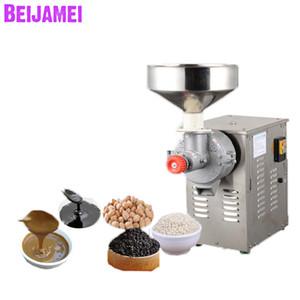 Burro di arachidi commerciale della fabbrica di BEIJAMEI 15kg / h Pasta di sesamo che fa macchina per smerigliatrice di burro di noci diverso