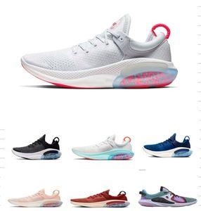 2019 Joyride Run FK Mens malha Running Shoes Universidade White Sail Red Triple Preto Bleached Coral Joyride Shoes Mens Trainers Sneakers NIK