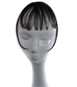 Сара Женщина Девушки Зажим В Волос Shuangbin Взрыва 100% Зажим Человеческих Волос В Бахрома Передняя Удлинение Передняя Зажим в Части Волос 3 * 14 СМ