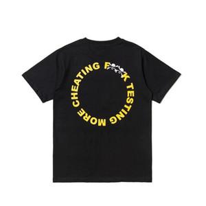 Gros-Vlone manches courtes Casual Designer T-shirt de haute qualité de la mode tendance Hip Hop Hommes Femmes T-shirt