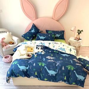 disegno del fumetto di cotone 13376 attivo copripiumino set biancheria da letto copripiumino immagini formato a due letti queen size Dragen gatto Rubbit coccodrillo squalo