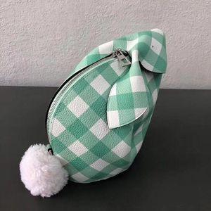 las mujeres designer- 7A dama mejor calidad lo llano de la manera del color de piel de becerro de cuero genuino crossbody precioso conejo bolsas de mensajero de hombro ocasional