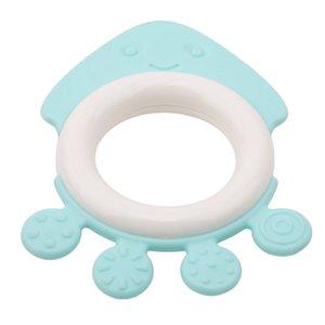 4pcs / set bébé Mitts Teething Mitten Fruit Marine Life Forme Tétines Jouet Cadeaux Soins infirmiers du nouveau-né mitaines Teether