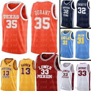 Davidson Wildcats Jersey 35 Kevin Durant Basketball Jerseys der NCAA-Männer Universität Günstige Großhandel Jersey-Größe S-XXL