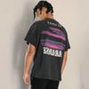 2020 the newTOP Vintage Inside Out Tee Hip Hop Skateboard T-Shirt Fashion Solid Color Short Sleeves Summer High Street Men Women T-shirt HFY