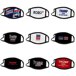 Дизайнер Trump маска для взрослых Мода хлопок Маски для лица Дети Print Мультфильм Камуфляж Ice Шелковый Солнцезащитный пыле и дышащая # 181