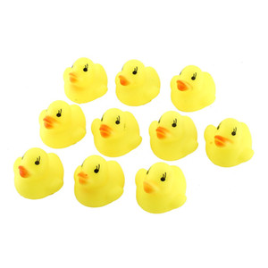OCDAY 1 pc Squeaky Ducks Baby Bath Toys Kids children Game Toys Yellow Duck Duckie Taking Shower Water Toys Gift Drop shipping
