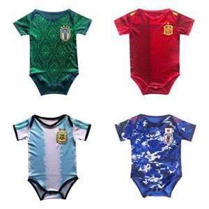 2020 2021 Italie Japon football bébé Espagne enfants Maillot de football 20 21 maillot Argentine Mexique camisas de futebol