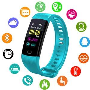 Fitness Tracker Smartwatch-Farbbildschirm Smart-Band Call Reminder Sport Gesundheit Herzfrequenz-Blutdruck-Monitor Smart-Bracele