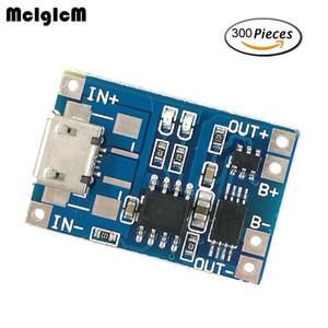 Freeshipping 300pcs 마이크로 USB 5V 1A 18650 TP4056 리튬 배터리 충전기 모듈 충전 보드 듀얼 기능 1A Li-ion