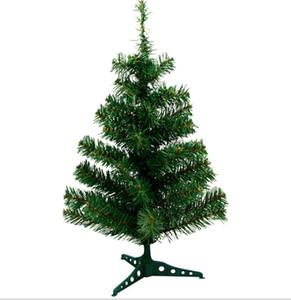 60 см Мини-Рождественская елка небольшой стиль для украшения рождественского стола экологически чистый ПВХ искусственный рождественская елка