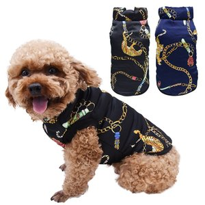 Pet Autumn Winter Costume Top, Tiger Pattern Sweater Cotton Padded Clothes For Small Medium Dogs