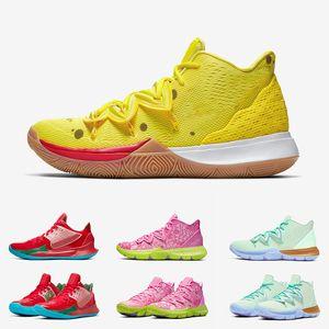 2019 nuovo arrivo Uomo Scarpe Kyrie TV PE pattini di pallacanestro 5 per il 20 ° anniversario spugna x Irving 5s progettista Sport Sneakers