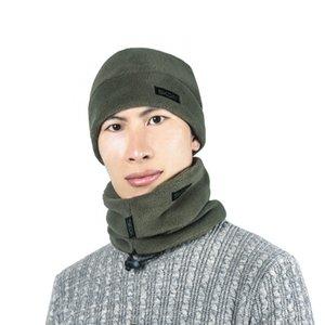 3pcs set Scarf Hat Gloves Set Men Women Kids Three-Piece Winter Warm Set Fleece Slouchy Beanie Hats Scarves Warm Clothing Kit