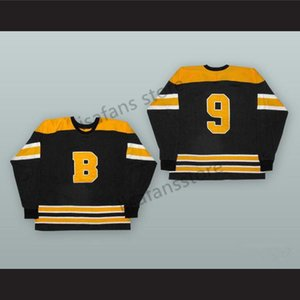 Cal Gardner 9 Boston Bruins Stitched College Hockey Jerseys Mens Sewn All Embroidery Customized Any Name Number