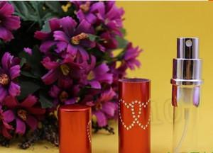 hot 10ml Recarregável Portátil Mini - love duplo coração perfume viajante frasco de alumínio embalagens vazias de garrafa atomizer ferramenta doméstica2i5711