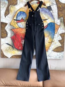 스트랩 2020 봄 여름 패션 디자이너 청바지 브랜드 같은 스타일 여성 청바지 0305-5 밀라노 활주로 청바지