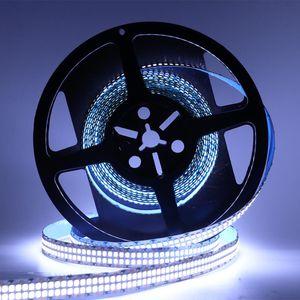 Luzes LED Strip, 16 .4ft / 5m fila dupla tira, DC 12V 2835 SMD 2400leds fita flexível de luz, 480leds não impermeáveis / M Fita das luzes