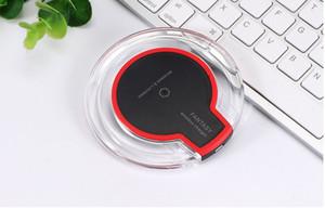 K9 [2020 VENTA CALIENTE] cristal de lujo inalámbrico cargador 5W Qi Placa de Carga para iPhone de Samsung LG Todas las Dispositivos Qi
