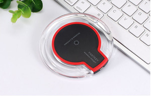 K9 [2020 HOT VENDA] luxo cristal Carregador sem fio 5W Qi Charging Pad Compatível para iphone Samsung LG Todos Qi Devices
