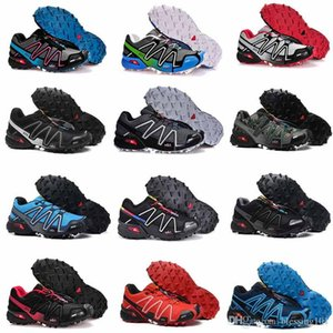 2018 Summer New Speedcross 4 4s Red Trail Runner Men's And Women's Sports Shoes Fashion Hot Sale Sneakers Outdoor Running Shoes